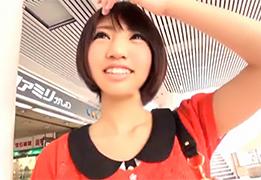 【素人】柏でナンパしたショートカットが可愛すぎる女子大生!