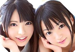 ピンク色のパイパンから無限に潮吹く可愛すぎる美少女二人組!