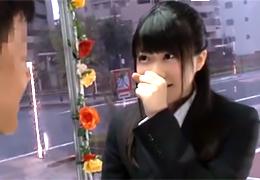 謝礼10万円の魅力に負けて上司とSEXする隠れ巨乳の新卒OL!