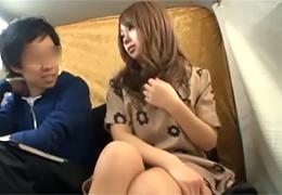 【素人】彼氏の借金を返済するために目の前で抱かれる彼女
