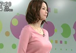 NHK杉浦友紀アナのオッパイが急成長と話題