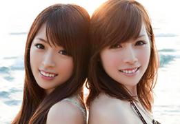 AKB48にも在籍した本物アイドル姉妹と奇跡の4P!