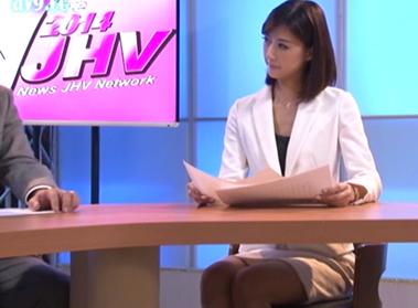 日本一女子アナ顔のAV女優「神波多一花」ついに女子アナに挑戦。