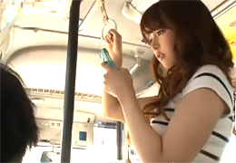 バスで出会った美人OLのワンピースで強調されたモリマンに欲情してレイプ!
