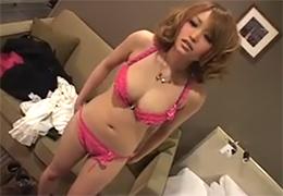 【素人】ナンパしたら生理中だった渋谷の美乳ギャルをお構いなしに生ハメ!