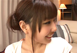 「おっきい…」美乳美尻のキュートな女子大生がカリデカ巨根を初体験!
