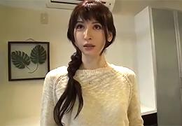 【素人】とても42歳には見えない長身美白の綺麗すぎる元専属モデル妻