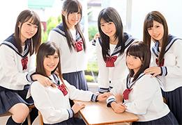制服美少女たちにモテモテな理想の学生時代をバーチャル体験!