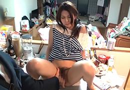 「お願い…子宮に出して」柴咲コウ似の人妻が中出し懇願SEX
