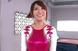 文句なしの可愛さ&締り!国体8位の体操美少女がAVデビュー! 須藤あいく