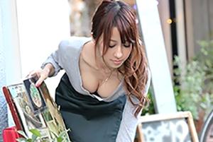 【素人】渋谷周辺でダントツに可愛かったカフェ店員に開店前に出演交渉!