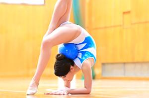 新体操美少女、高城舞衣デビュー