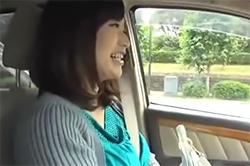 Hカップ美女とドライブデート