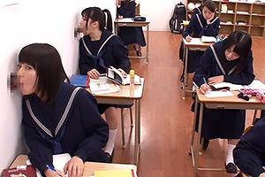 授業中にチ◯ポをしこしこ…ペロペロ…エロすぎる学風の進学校 有本紗世