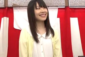 【素人】おっとり系女子大生が挑戦!アソコの感覚だけでオモチャを当てたら100万円!