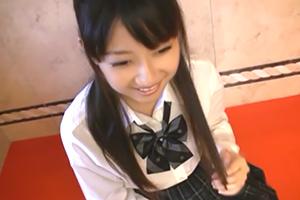 【個人撮影】学年でトップクラスの美少女JKが円光で中出し