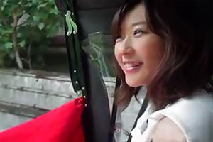 笑顔が可愛い清楚系美人妻とのしっとり不倫旅行の様子がこちら