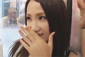 爆買いに来た香港の女子大生が東京旅行中にまさかのマジックミラーwww