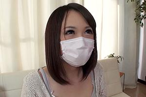 脱いだら凄かった!!決してマスクを外さない可愛すぎる隠れドMヘンタイ巨乳美人メイクさんAVデビュー