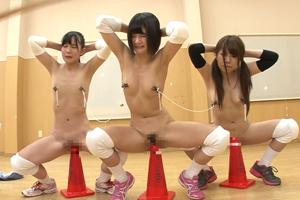 私立極門女子校バレーボール部シゴキ選抜合宿の画像です