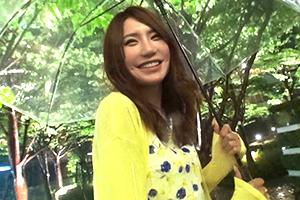 【素人】雨の横浜でナンパした全盛期の菅野美穂みたいな美人OLとハメ撮り!の画像です