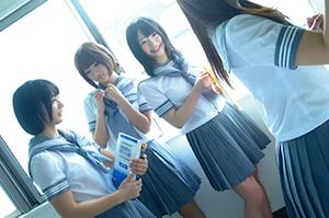 女子校の先生になって、生徒たちにHな個人授業をヤりまくりの画像です