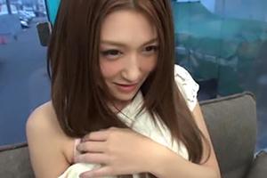 【素人】マジックミラー号でダントツ可愛かった札幌の受付嬢