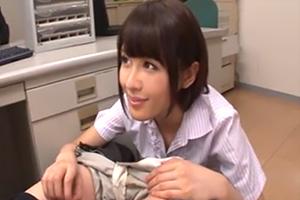 夏目優希 同僚の痴女がオフィスで俺のチンポを咥えてくるのだが。