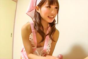 恵比寿マスカッツ 天使もえ が家政婦姿でご奉仕してくれる神企画がヤバいwww