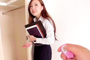 「私、まだ一件も契約取れてないんです…(涙)」入社1年目賃貸営業ぽんこつ新卒女子社員ちゃん AV Debut! さきちゃんの画像です