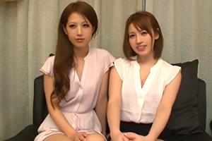 美女二人がセンズリ鑑賞の画像です