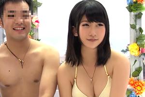 【マジックミラー号】謝礼という大義名分の下、友達の超可愛い巨乳彼女とSEX!
