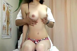 【歌舞伎町整体】思わず拝みたくなるような天然美乳の風俗嬢をがっつり隠し撮り