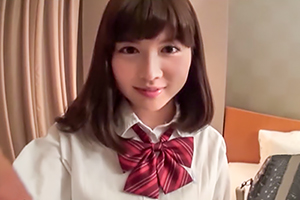 上京したてのクッソ可愛い女子校生をホテルに連れ込んでガッツリ中出し!