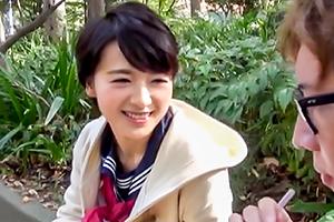 向井藍 美少女専門素股交際クラブ。敏感すぎるショートカットJKにガッツリ中出し。の画像です