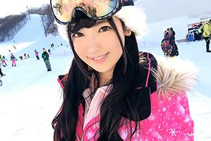 【素人ナンパ】白銀の湯沢スキー場で美人インストラクターをゲット!の画像です