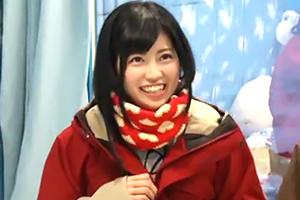 【マジックミラー号】ゲレンデでナンパした笑顔が眩しいこじるり似の女子大生