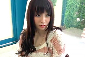 【マジックミラー号】怯える天然美少女がずっとカメラ目線で主観SEX!