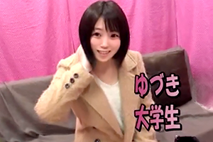 ガチ素人ナンパ 激カワ恥じらいオマ○コくぱぁGET!!新宿で見つけた清楚で優しい女子大生にオナニーのお手伝いをお願いしたら生ハメ中出しまでしちゃいました!!の画像です