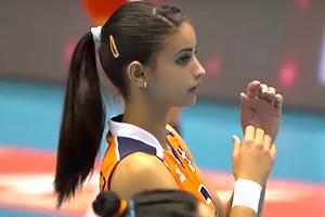 【動画あり】女子バレーのドミニカ代表にめっちゃ可愛い子がいたの画像です