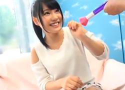 【マジックミラー号】アイドル志望の19歳ポニーテール美少女のハメ撮り!
