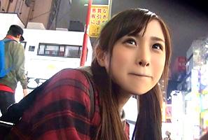 【個人撮影】新宿で出会った可愛すぎる家出少女をまんまと連れ込んだ