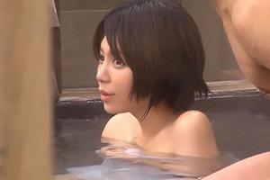 寝取られ願望の強い旦那に混浴で1人っきりにさせられた美人妻の末路…の画像です