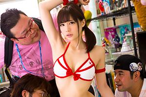 鈴村あいり ヲタサーの姫。バーチャルしか知らないオタク部員に輪姦されて…