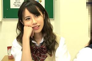 「ゴム着けるならヤル?」舐めた態度のクラス1美人な女子校生にナマ挿入!