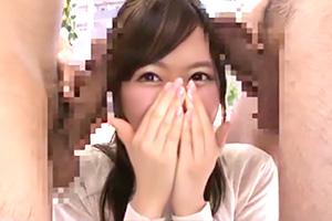 「興味は…あります」マジックミラー号で女子大生が初めての3P体験!の画像です