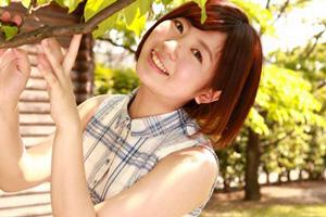 河野アキ(かわのあき) 長野からやってきた天真爛漫な元気娘がAVデビュー!