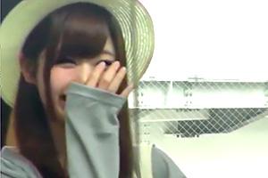 西宮ゆめ 笑顔がたまらなく可愛い!現役アイドル候補生が決意のAVデビュー!