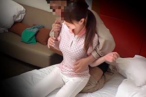 出張メンズエステ盗撮人妻エステティシャンに中出しの画像です