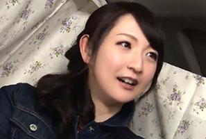 【素人ナンパ】旦那とラブラブな新婚Hカップ奥さんに無許可中出し!